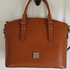 Dooney & Bourke Nana Domed Satchel - Natural